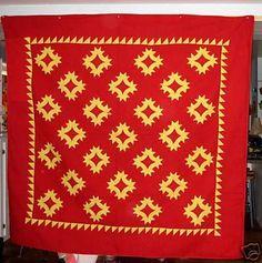 Antique Mennonite quilt, Lancaster County, PA