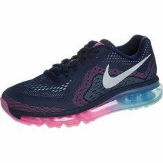 nike performance air max 2014 scarpe da running ammortizzate blu