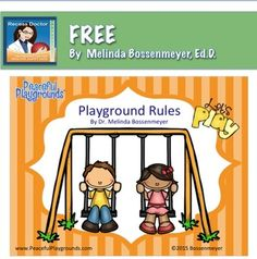This Playground Rules Poster Set includes 8 posters listing some of the most utilized playground rules. A few of the posters represented in the set are:1) Listen to Playground Supervisors,2) Be Respectful and Kind, and3) Keep hands and feet to yourself