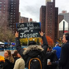 The 35 Best Signs From The NYC Marathon. This. Is. Awesome.