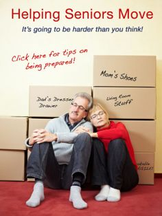 Helping seniors move - it's harder than you think.  Helpful interview that provides a look at the emotional impact of #moving on seniors.  Whether into #assistedliving or just another home...