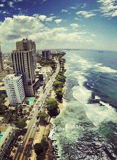El Malecón in Santo Domingo, Dominican Republic