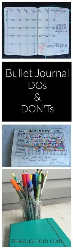 Ready to start your Bullet Journal journey? Here are some DOs and DON'Ts to help you get started. If you are already Bullet Journaling, I'm curious to hear your DOs and DON'Ts and if some of ours are similar. #BulletJournal