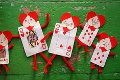 I think these playing card Valentines over at My Paper Crane are great for kids who find typical...
