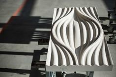 """New series of marble """"surfaces"""" design by Luigi Siard for Margraf 