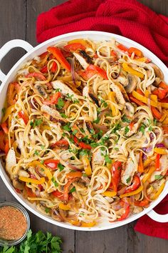 I am on a roll with pasta lately and I still have yet another pasta recipe coming soon (and guess what, it has grilled chicken. Imagine that.)! I live for