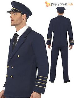 #Adult mens #airline pilot aviator uniform #airforce mens fancy dress stag costum,  View more on the LINK: 	http://www.zeppy.io/product/gb/2/201603220207/