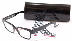 Authentic Face A Face Eyeglasses Frame Bocca Smoking 1 2002 Black Plastic Italy #FACEAFACE
