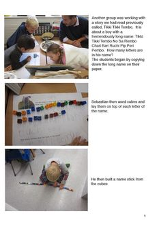 Early Learning at ISZL: Math Workshop