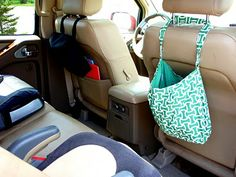 Organizing your car/having everything you/the kids need in it