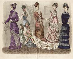 American Women's Fashion May 1880