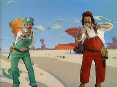 """""""Swing your arms from side to side...it's the Mario!"""""""