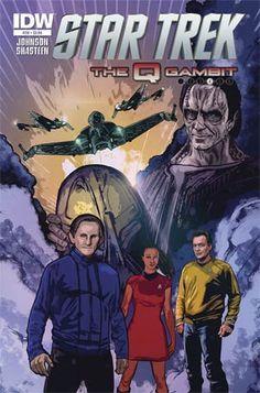 #StarTrek (IDW) #38 Cover A Regular Tony Shasteen Cover - Midtown Comics