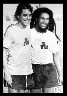 Chico Buarque e Bob Marley