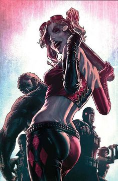Suicide Squad - Harley Quinn by Lee Bermejo *