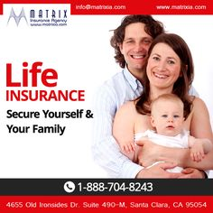 Affordable #life #insurance plans for you and your loved once. Visit https://www.matrixia.com/life-insurance/ #lifeinsurancecalifornia