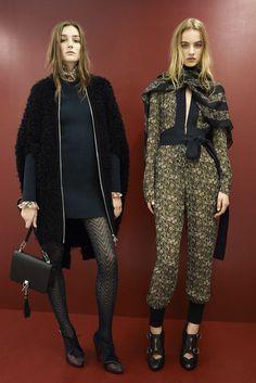 Sonia Rykiel Pre-Fall 2015 Fashion Show - Maartje Verhoef, Josephine Le Tutour