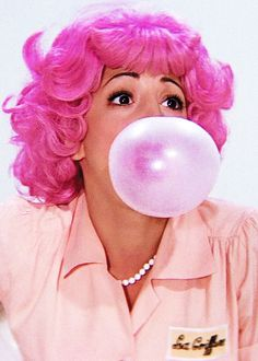 Check out the puff stitching on that sleeve, yum x     Didi Conn as Frenchie in 'Grease', 1978.