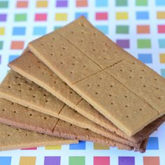 Paleo Graham Crackers- Elanas Pantry