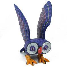 Susano Morales & Tibida Jimenez: Owl with Wings Up