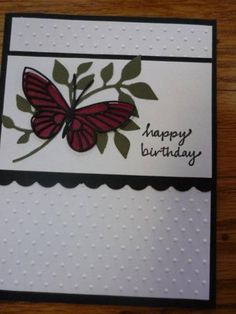 Shadowed butterfly by lbl - Cards and Paper Crafts at Splitcoaststampers