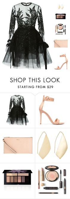 """Untitled #5228"" by mdmsb on Polyvore featuring CO, Gianvito Rossi, Furla, Ana Khouri and Smashbox"