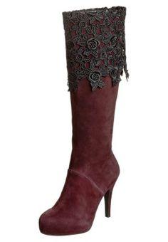 Tosca Blu KIRBY Platform Boots red