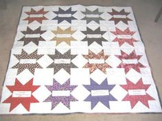 Photo only of Signature Quilt. Great gift idea for a friend that is moving away.