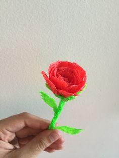 3D rose.