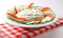 Favorite Bulgarian Salads: Snezhanka, Ruska salad, Potato salad, Green salad, Stuffed tomato salad, Peppers and eggplant salad