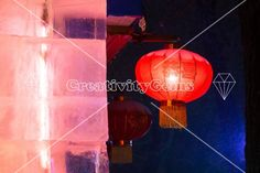#Chinese #lantern attached to ice blocks – #Free #image CreativityGems
