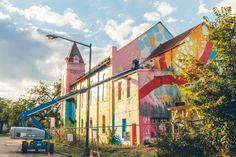 Historic Church Transformed with Graffiti Art by Hense | Bored Panda