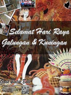 Happy Galungan & Kuningan to whole Balinese whom celebrate it...