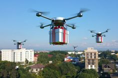 Recent reports of drones delivering pizza, donuts, and other tasty snacks have had many of us drooling in expectation of a world where unmanned aerial vehicles can take care of our rumbling tummies in a matter of minutes, but the truth is, such air-based services are still a ways off.