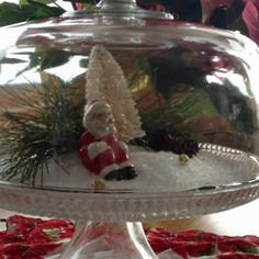 My first Christmas cloche