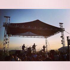 Disfrutando del escenario en Viñedos La Redonda, Tequisquiapan, Qro.