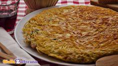 Frittata di spaghetti. Ricetta ideale per il #brunch domenicale o per le gite di #pasquetta