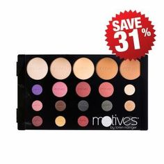 Motives Consultant Palette gives you the best of our Motives Pressed Powders, blushes and eye shadows to share with clients. Build your business with