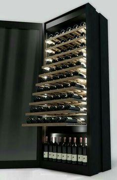 wine cellar Coolers Cellars Latest Trends in Home Appliances Home Wine Cellars, Wine Cellar Design, Wine Display, Wine Wall, Wine Cabinets, Curio Cabinets, Wine Fridge, In Vino Veritas, Italian Wine