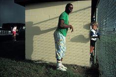 Alex Webb - USA. St. Plant City, FL. 1989. Softball game.