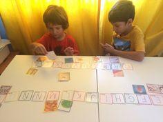 Día 30: Conciencia fonológica. Juegos imprimibles. - Educadiver