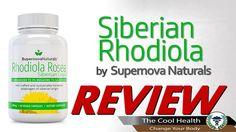 Supernova Naturals - Siberian Rhodiola Rosea Benefits Side Effects Review
