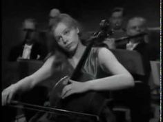 Edward Elgar - Cello Concerto in E minor, (Jacqueline du Pré; Edward Elgar, Cello Concerto, Classical Music, Music Videos, Youtube, Classic Books, Youtubers, Youtube Movies