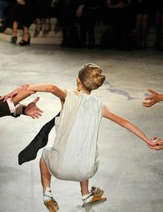 ElleUK.com, News: Models falling on the catwalk in hilarious video