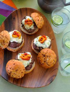 Grilled Burgers with Dofino Creamy Havarti Topping! #ArlaDofino #HavartiParty #GotItFree