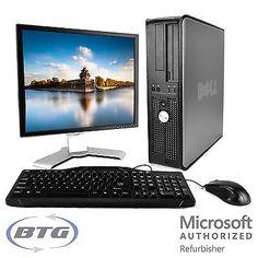 25 Lot of Dell Optiplex Desktop Computer Windows 10 PC Core2Duo 4GB RAM DVD HD