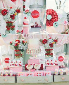 Candy rosa/rojo