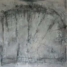 ASH FIELD - acrylic on canvas by Rudi Eckerle