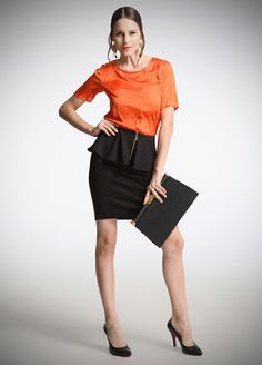 The Selection, Leather Skirt, Satin, Skirts, Style, Fashion, Swag, Moda, Skirt