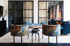 Living Room/ Photographer Nicole Franzen Love The Colorful Minimalism  #livingroom #minimalisim